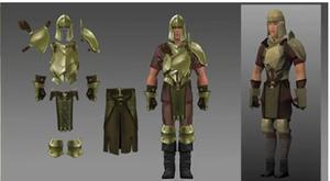 Bronze armour update