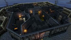 Rogues' Castle interior