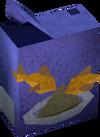 Fish food detail
