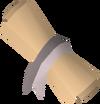 Steel sword design detail
