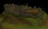 Grail Castle ruined