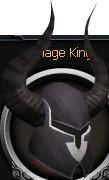 Black full helm (t) chathead