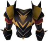 Elite black platebody detail