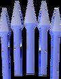 Blurite bolts (unf) detail