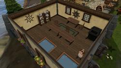 Harry's Fishing Shop interior