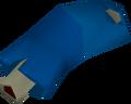 Left arm detail
