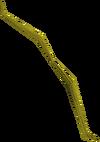 Yew shieldbow (u) detail