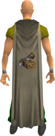 Construction cape equipped