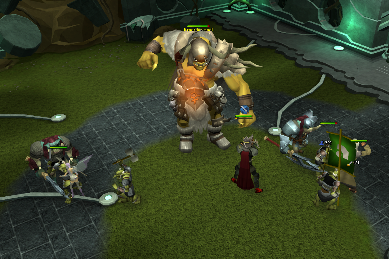 Slay Vinecrawlers Runescape Moss Golem Or Higher On The Lost Grove