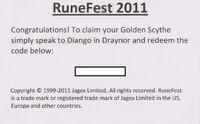 Golden Scythe