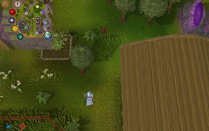 Compass clue Rimmington west of POH portal