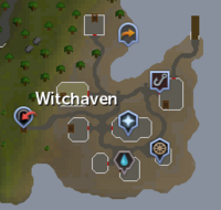 Witchaven map