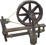 Spinning wheel (Daemonheim)