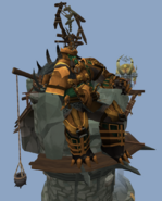 Bandos on his throne
