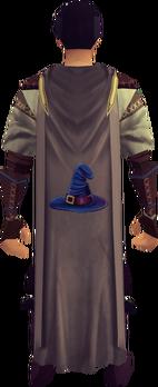 Magic cape equipped