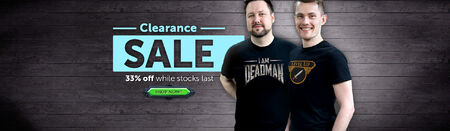 Clearance Sale head banner