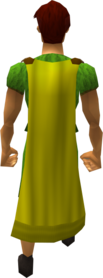 Cape (yellow) equipped
