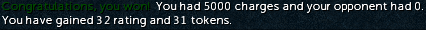 Fist of Guthix 5000 charge win