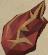 Flame fragment detail