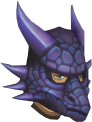 Mithril dragon mask chathead
