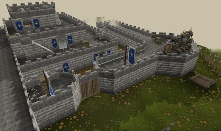 Saradomin castle old