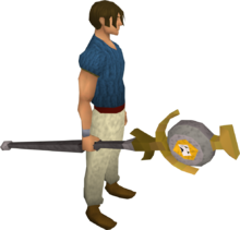 Chaos talisman staff equipped