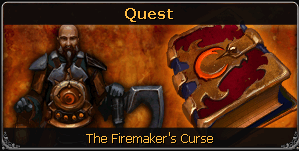 The Firemakers Curse noticeboard