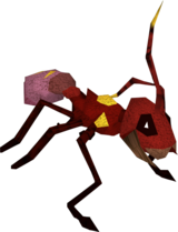 Giant ant soldier