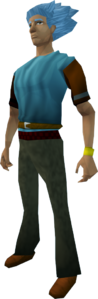 Gold bracelet equipped