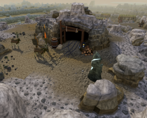 Eadgar's cave