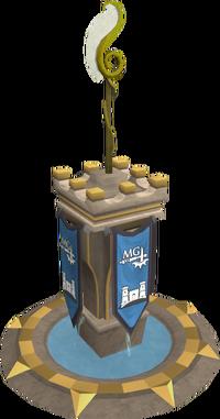 Ornate magic pillar