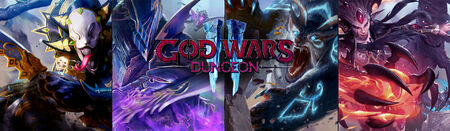 God Wars Dungeon 2 head banner