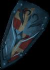 Rune shield (h4) detail