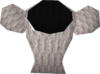 Princess blouse detail