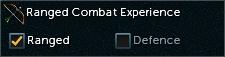 Combat Experience ranged