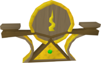 Guthix icon detail
