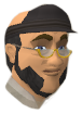 Banker (Maximillian Sackville) chathead