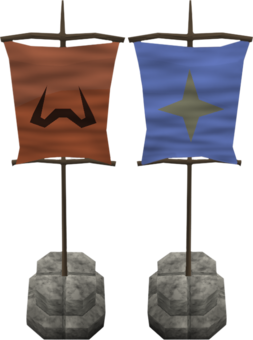 Castle Wars flags old