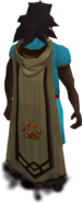 Hunter master cape equipped