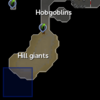 Edgeville Dungeon hill giant resource dungeon entrance location