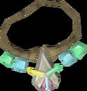 Arcane stream necklace detail