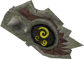 Sacred clay shield (magic) detail