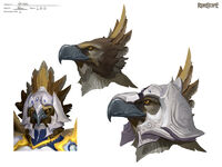 Armadyl head concept art
