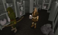 Armour Shop interior