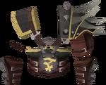 Bandos chestplate detail