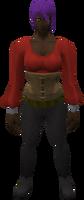 Retro tunic and bodice