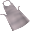 White apron detail