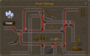 Haunted Mine initial map