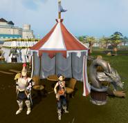 Clan Camp guard's camp