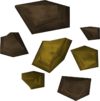 'Perfect' gold ore detail